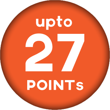 Up to 27 Points